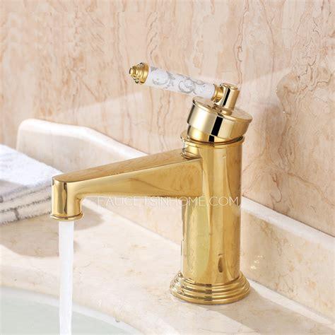 luxury bathroom sink faucets luxury polish brass single handle filtering vintage