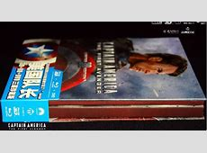 DigiPack Captain America The First Avenger 3D2D Blu
