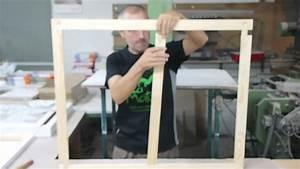 Comment Fabriquer Une Verriere En Acier : barocco comment monter un ch ssis bois pour entoiler youtube ~ Voncanada.com Idées de Décoration