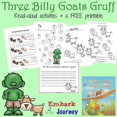 three billy goats gruff printables and activities goats 862   a546a0edb4a17639150b12e80778ad39