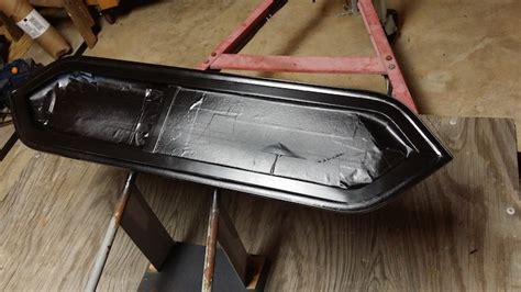 Sanding Aluminum Boat For Painting by This Made Maggie Own Teardrop Trailer