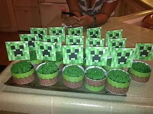 Minecraft Creeper Cupcakes | Parties! | Pinterest ...