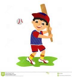 Boy Baseball Player Clip Art