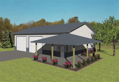 40 x 60 x 14 workshop at menards barn house ideas
