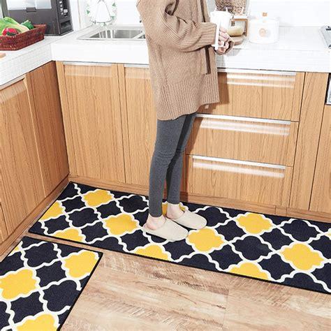 buy hebe kitchen rugs set  piece  slip kitchen rugs