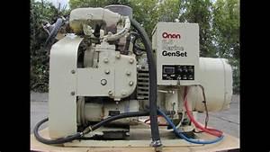 Onan Marine 6 5kw Genset Gasoline Gas Generator 6 5 Kva