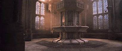 Hogwarts Chamber Bathroom Secrets Entrance Potter Harry