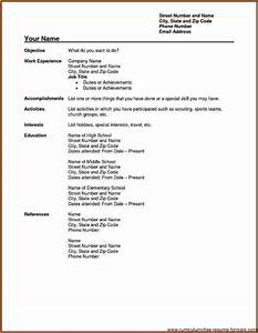 awesome fillable resume form images resume ideas With free fillable resume templates