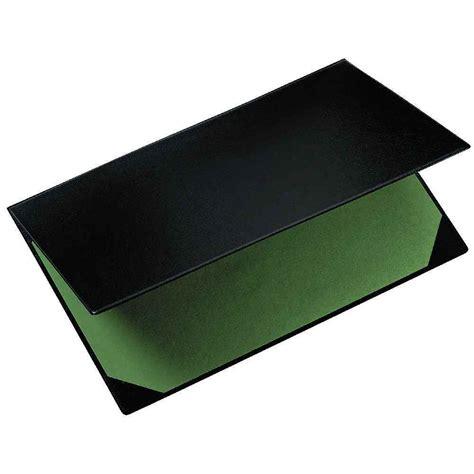 sous bureau personnalisé sous plastique 40x60 noir exacompta vente