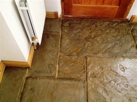 flagstone slate tile cleaning old slate flagstones tiles in banbury oxfordshire tile doctor