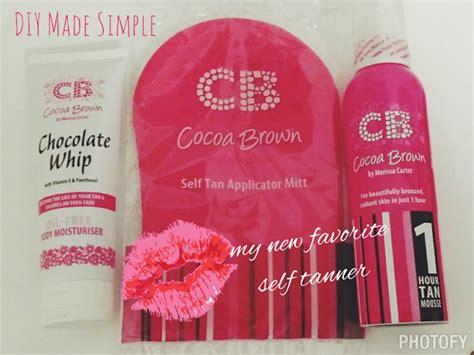 Cocoa Brown Tan Review  Diy Made Simple