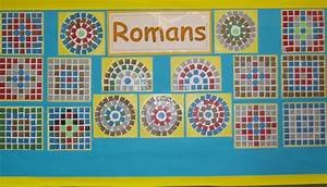 Classdisplays art for Roman mosaic templates for kids