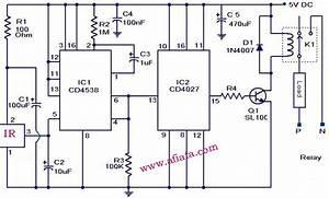 Ir Remote Control Light  Using Relay