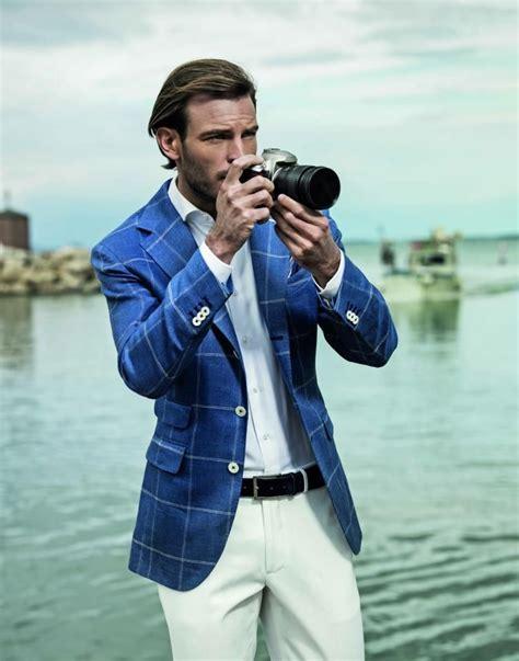 A Summer Sports Jacket The Navy Blazer Mens Fashion