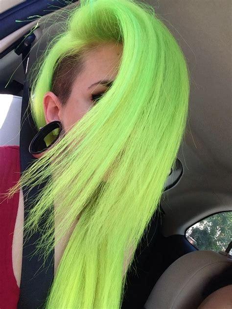 Best 25 Neon Hair Ideas On Pinterest Neon Hair Color