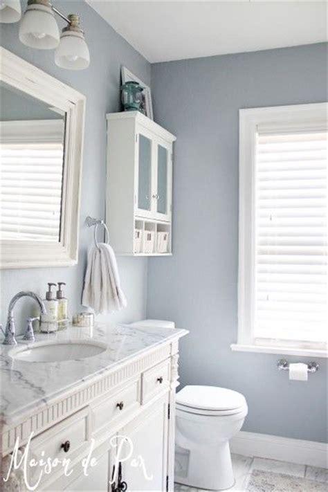 color ideas for a small bathroom sherwin williams krypton paint color maison de pax used