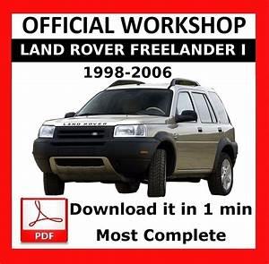 U0026gt  U0026gt  Official Workshop Manual Repair Land Rover Freelander