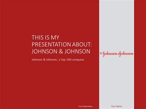 johnson johnson powerpoint template presentationgo