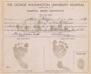 blank birth certificates new calendar template site With hospital birth certificate template