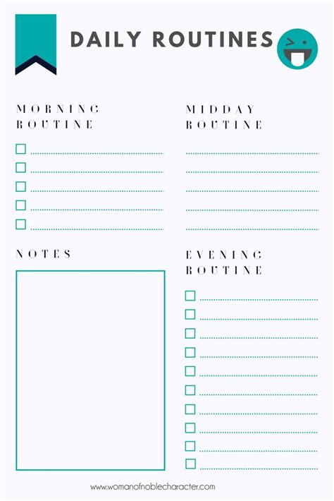 routines    stay organized daily