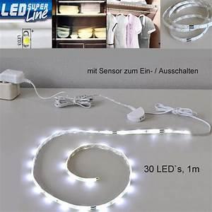 Led Lichtband Mit Batterie : led lichtleiste mit sensor schrankbeleuchtung innen 2347 ~ Jslefanu.com Haus und Dekorationen