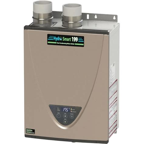 Propane Boiler For Radiant Floor Heat by Hydro Smart Condensing Micro Boiler Propane 199k Btu
