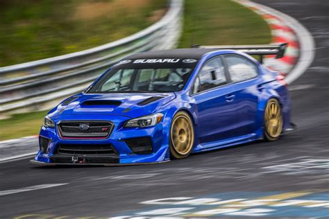fastest subaru wrx one fast sedan subaru 39 s nürburgring special speedhunters
