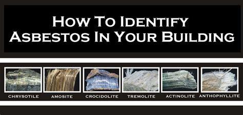 identify asbestos   building native