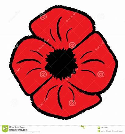 Clipart Poppy Poppies Clip Coquelicot Flower Rote