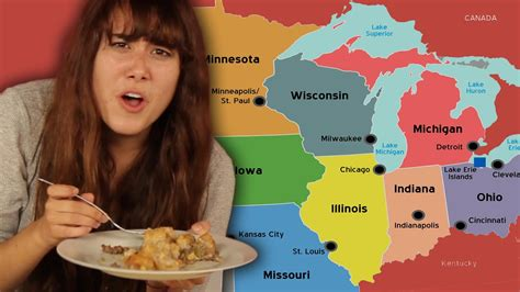 cuisine r馗up try midwest food for the funnydog tv
