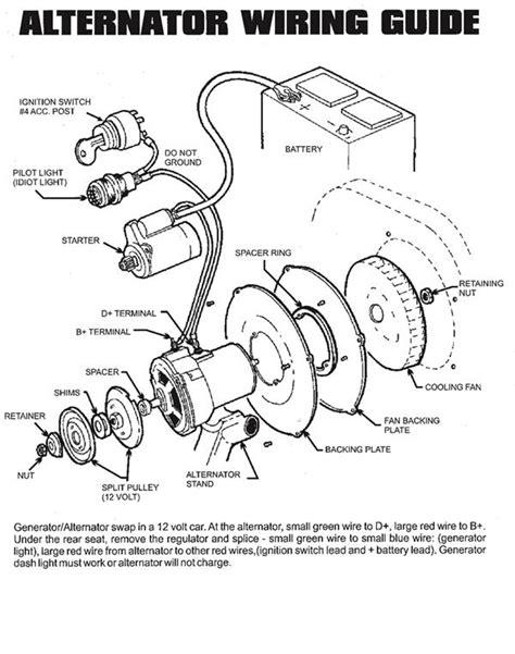 Dune Buggy Bug Alternator Kit Instructions
