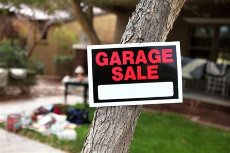Proposed Rules Would Require Permits For Garage Sales In