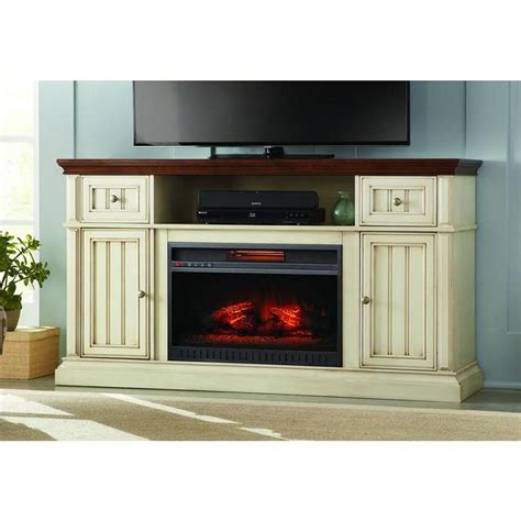 white fireplace tv stand home decorators collection montauk shore 60 in tv stand