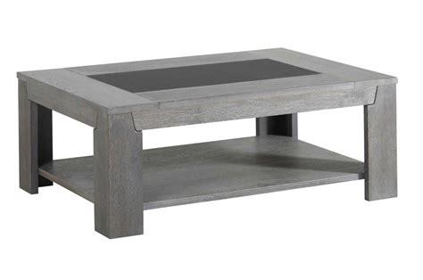 meuble tv pour chambre a coucher table basse en bois chêne gris et verre trendymobilier com