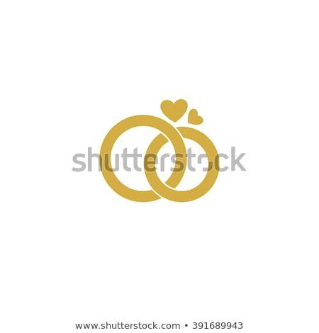 wedding rings icon stock vector  shutterstock
