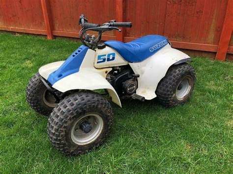 Quads bikes are incredible for those who appreciate racing and the excitement of the open air. Suzuki lt50 lt 50 quad bike kids 50cc lt80 | in Groby, Leicestershire | Gumtree