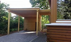 Holz Künstlich Vergrauen : carport halle kr llwitz bauen mit holz ~ Frokenaadalensverden.com Haus und Dekorationen