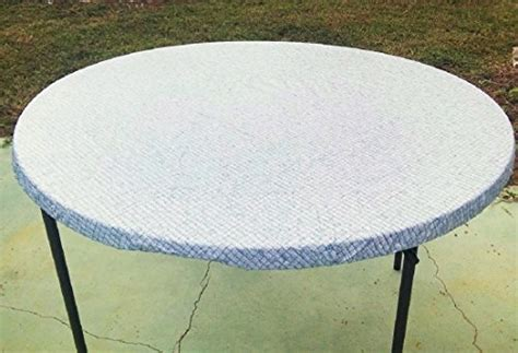 elastic edge table covers large fitted round elastic edge mosaic vinyl tablecloth