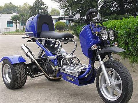 150cc 3 Wheels Motorcycle Trike Gas Moped Scooters