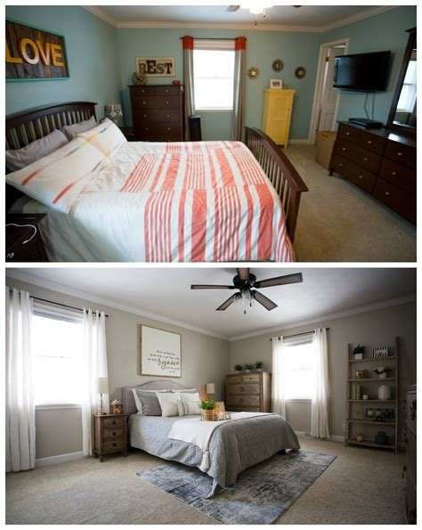 master bedroom makeover   living  yellow