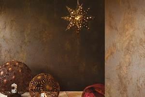 Wand Metallic Effekt : innenwand gestaltung mit den caparol kreativtechniken ~ Sanjose-hotels-ca.com Haus und Dekorationen