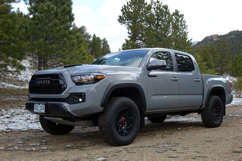 2017 Toyota Tacoma Trd Pro First Drive Review The