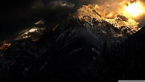 Download, Dark, Mountain, Wallpaper, 1920x1080
