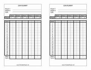 Gin Rummy Online : printable gin rummy score sheet ~ Orissabook.com Haus und Dekorationen