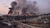 黎巴嫩貝魯特港區倉庫硝酸銨大爆炸 78死近4000傷[影] | 國際 | 重點新聞 | 中央社 CNA