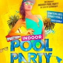 Indoor Pool Party  Europabad Karlsruhe Tickets Karten