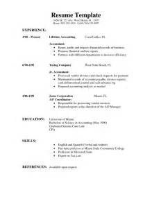 sle resume format simple resume template download