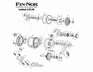 Reel Parts - Fin-nor Parts
