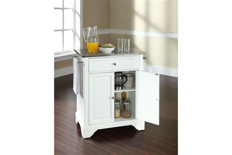 stainless kitchen island lafayette stainless steel top portable kitchen island in
