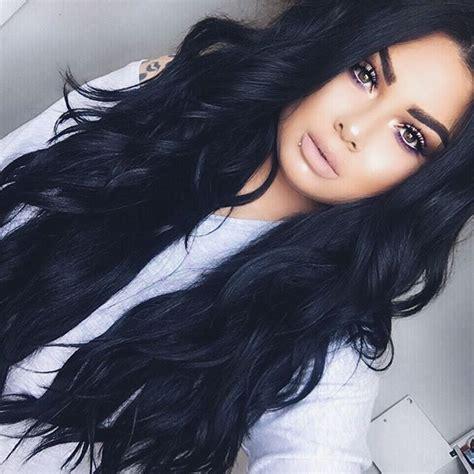 Pinterest Nattat74 Make Up Hair Color For Black Hair